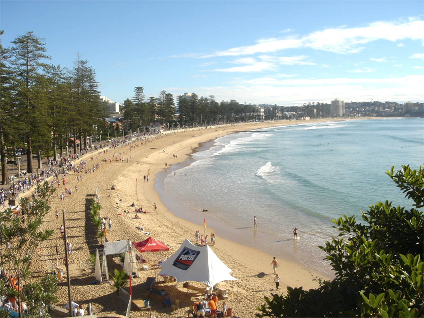 Manly Beach in New South Wales - Australia