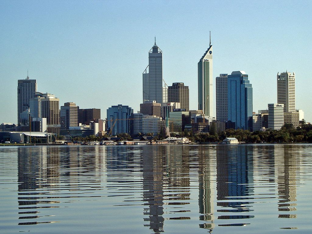 Perth nello stato di Australia Occidentale - Australia