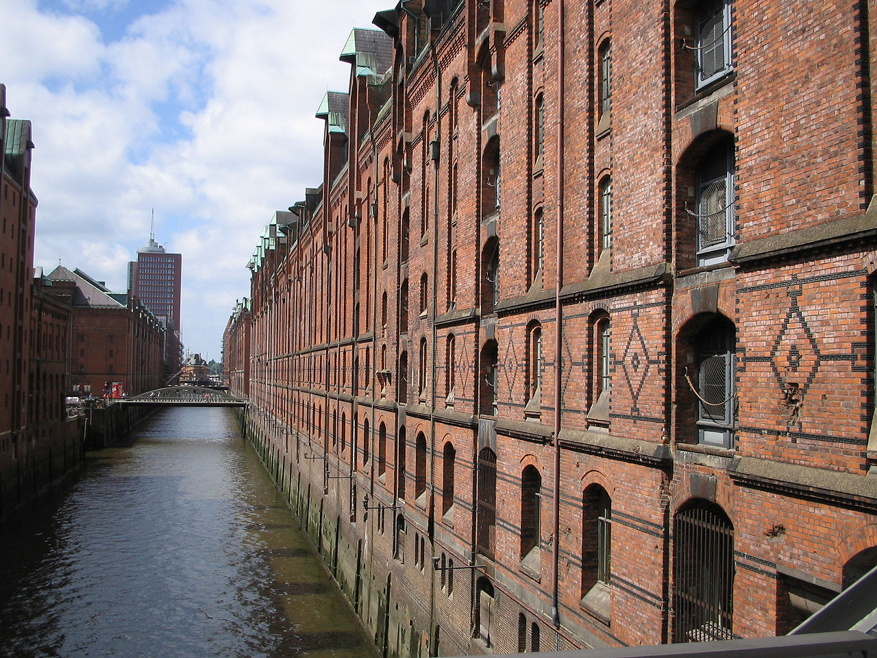 Speicherstadt ad Amburgo- Germania