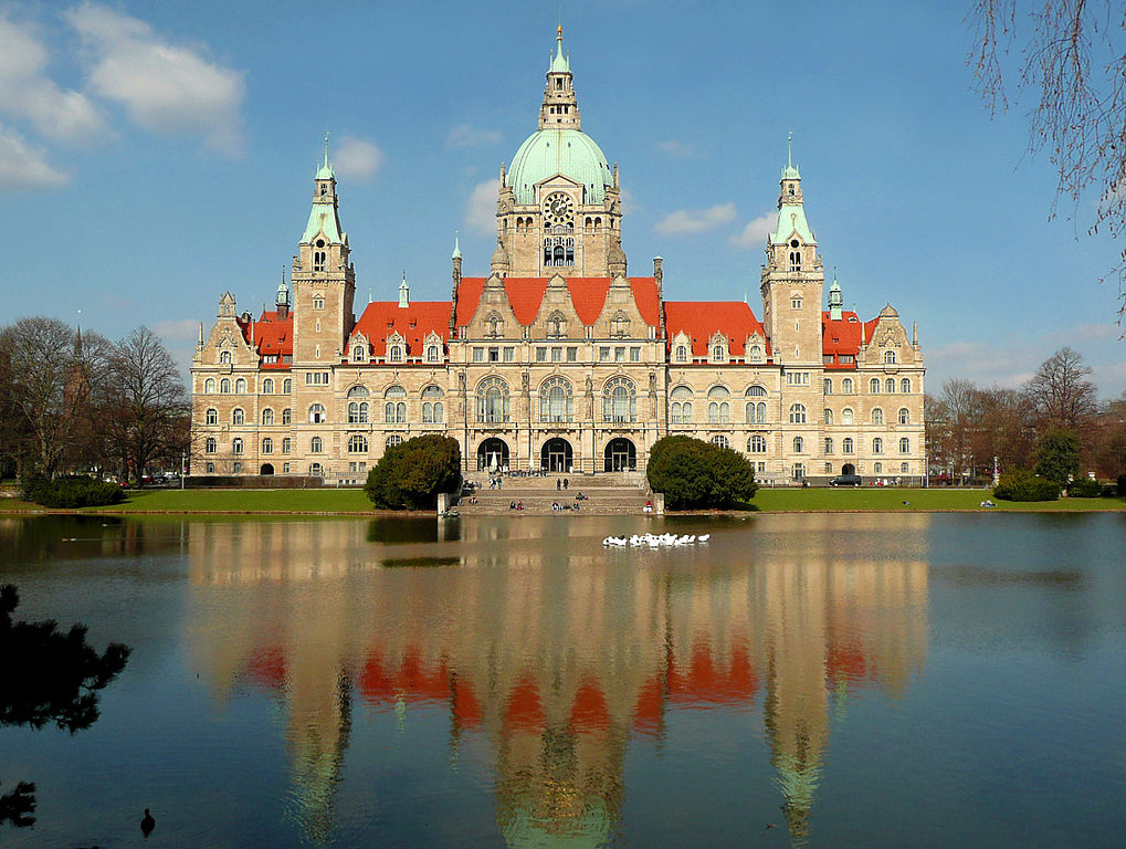 Neues Rathaus ad Hannover - Germania