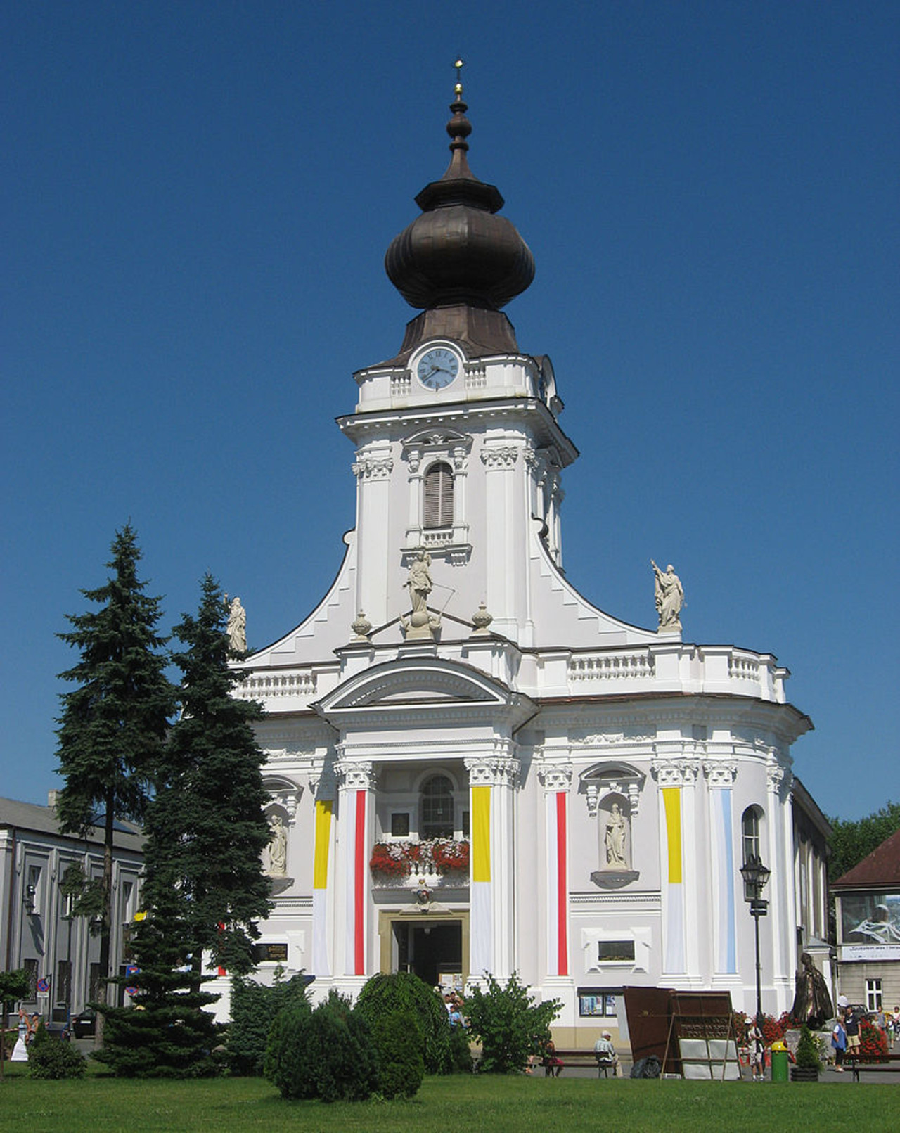 Basilica of the Presentation of the Blessed Virgin Mary a Wadowice in Polonia