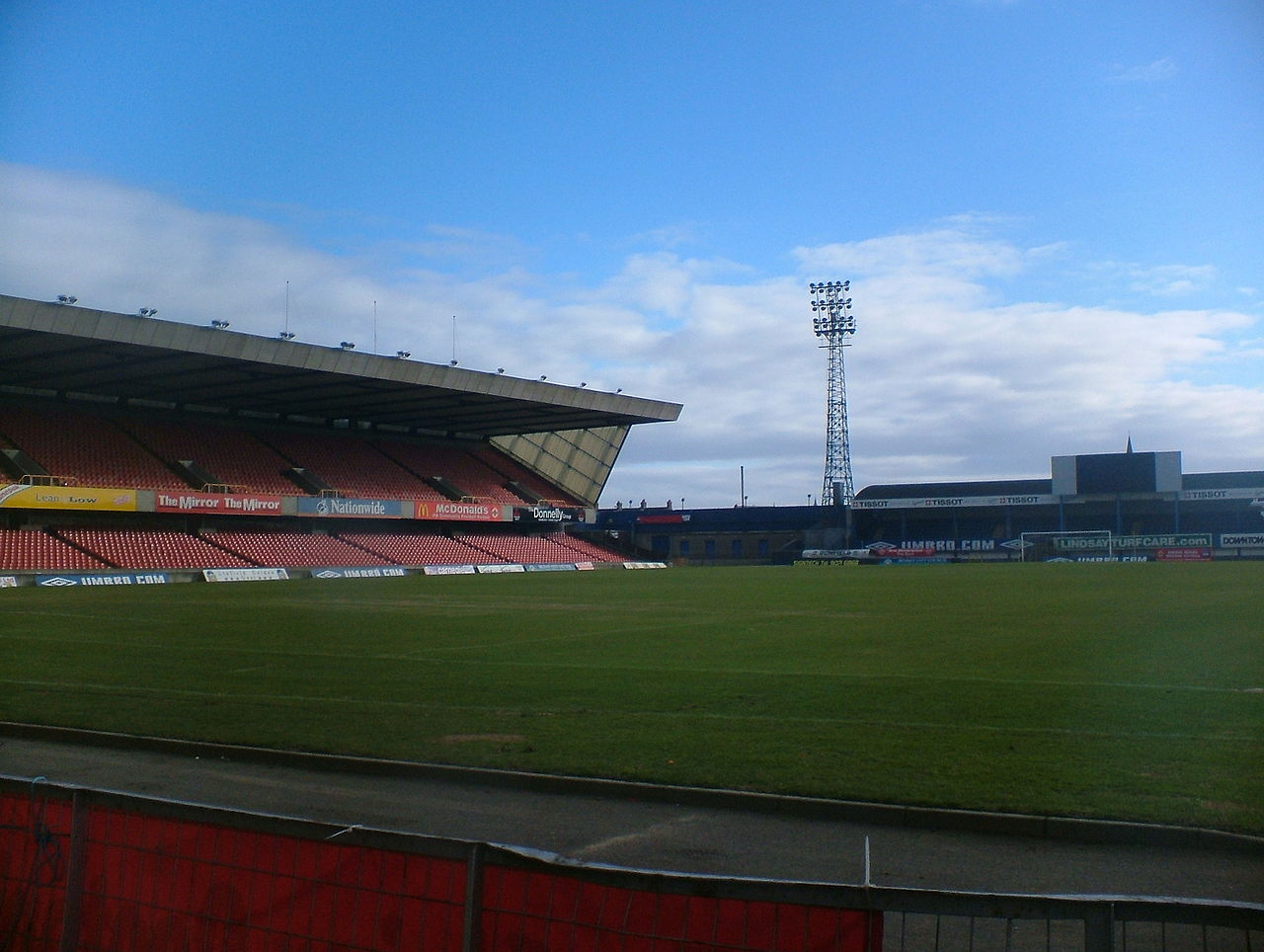 Windsor Park football stadium a Belfast in Irlanda - Regno Unito