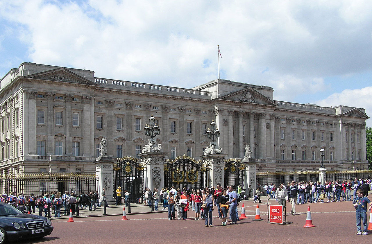 Buckingham Palace a Londra in Inghilterra - Regno Unito