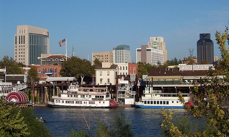 Riverfront a Sacramento in California - USA