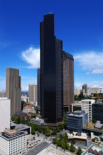 Columbia center a Seattle nello Stato di Washington - USA