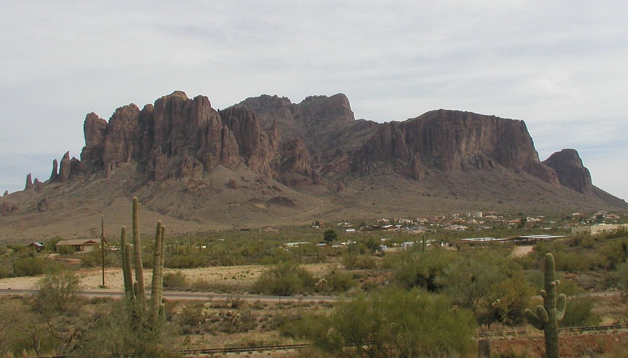 immagine di Superstition mountain Arizona - USA